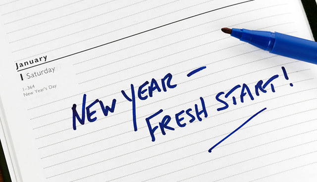 How is Your Progress on Those New Year's Resolutions?